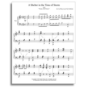 A Shelter in the Time of Storm Piano Sheet Music
