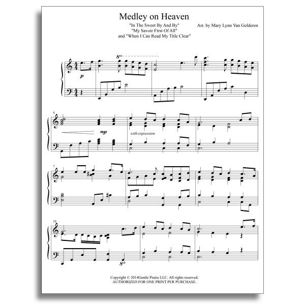 Medley On Heaven Gentle Praise