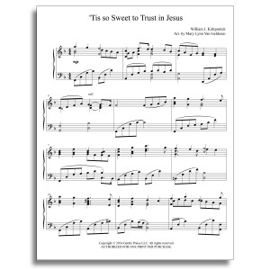 'Tis so Sweet Piano Sheet Music